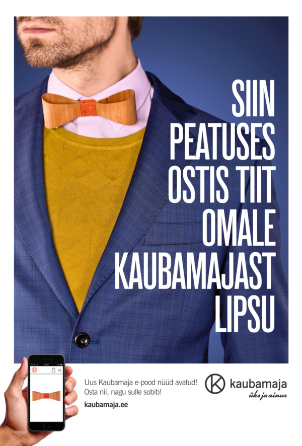 Client Tallinna Kaubamaja Agency: Utopia