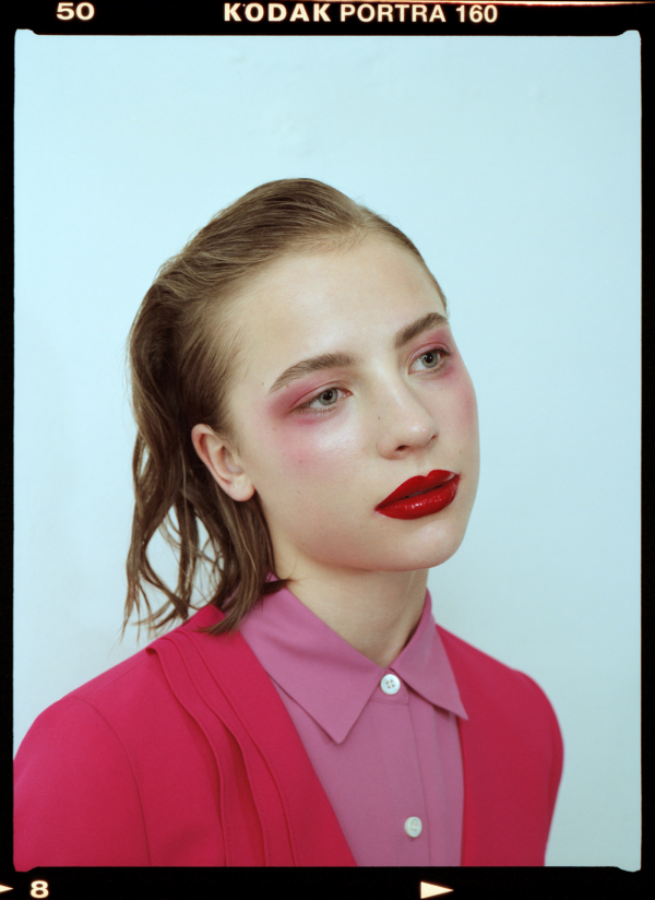 Strawberry Lemonade for Blanc Magazine